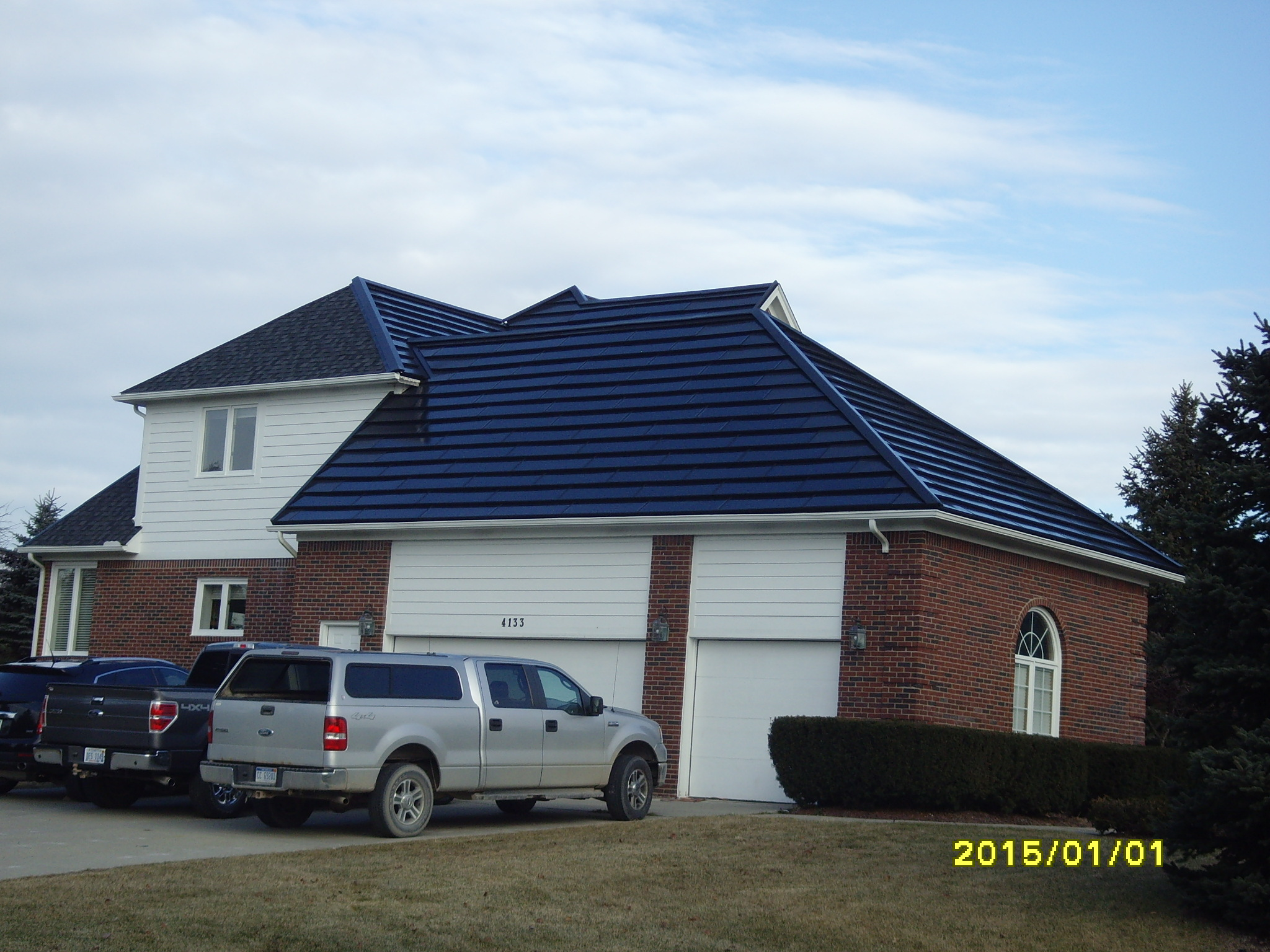 8KW SolarShingle, Customized Design
