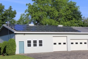 System with Normal Solar Panels, Brant ON